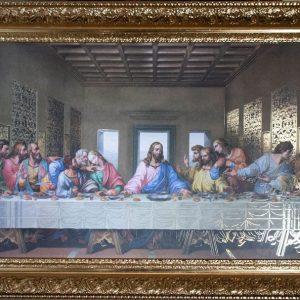 La última cena Da Vinci